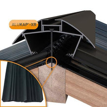 Load image into Gallery viewer, Alukap-XR Ridge Bars - With 55mm Rafter Gasket