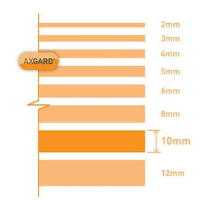 Axgard Clear 10mm Solid Polycarbonate Sheet