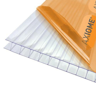 Axiome 10mm Clear Twinwall Polycarbonate Sheet