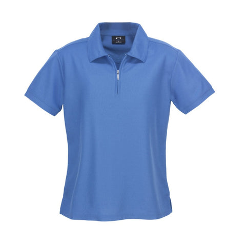 Image of Ladies Micro Waffle Polo P3325