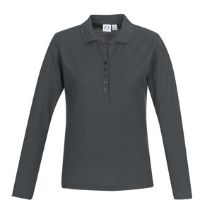 NZCCA Crew Ladies L/S Polo P400LL