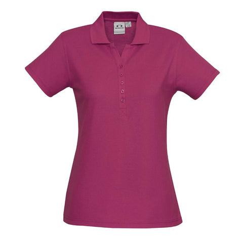 NZCCA Ladies Crew Polo P400LS