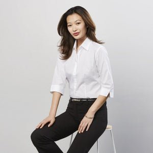Ladies Base 3/4 Sleeve Shirt S10521
