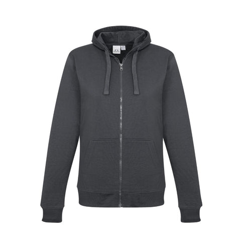 Image of AMDG Crew Zip Ladies Hoodie SW762L