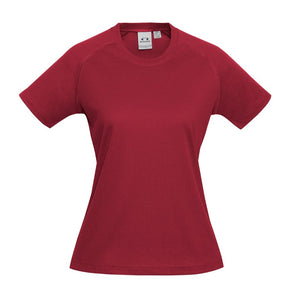 Ladies Sprint Tee T301LS