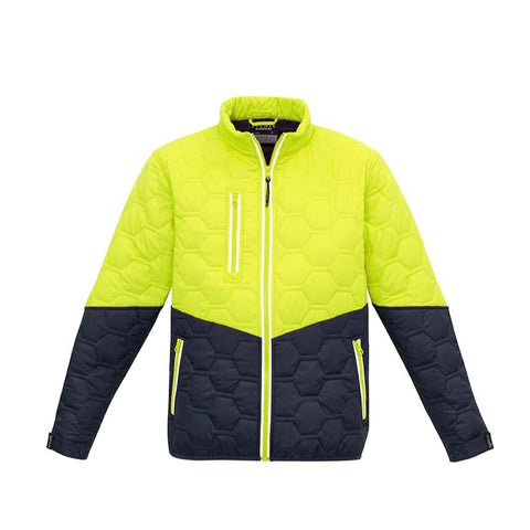 Image of UNISEX HEXAGONAL PUFFER JACKET   ZJ420