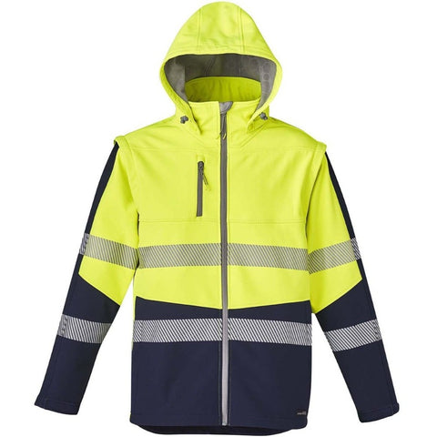 UNISEX 2 IN 1 STRETCH SOFTSHELL TAPED JACKET   ZJ453