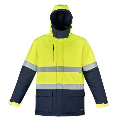 UNISEX HI VIS ANTARCTIC SOFTSHELL TAPED JACKET   ZJ553