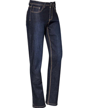 WOMENS STRETCH DENIM WORK JEANS   ZP707