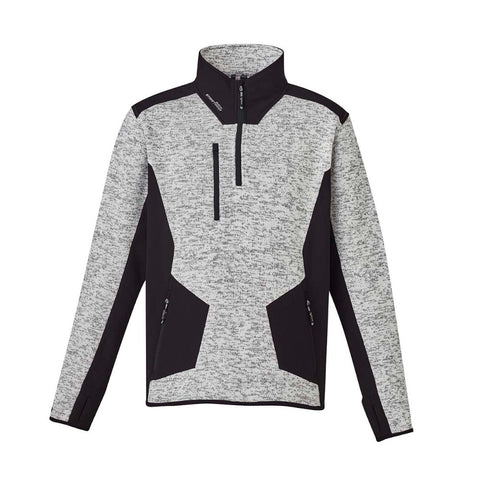 Image of UNISEX STREETWORX REINFORCED 1/4 ZIP PULLOVER   ZT380