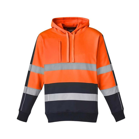 Image of UNISEX HI VIS STRETCH TAPED HOODIE   ZT483