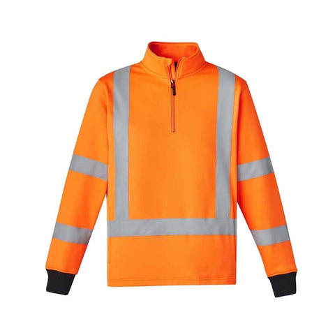 Image of UNISEX HI VIS X BACK RAIL JUMPER   ZT660