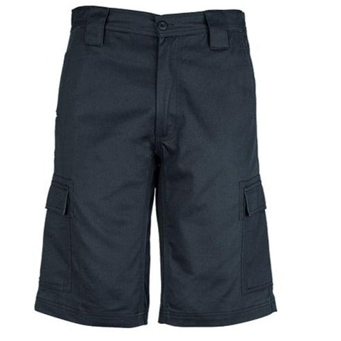 Image of MENS DRILL CARGO SHORT   ZW012