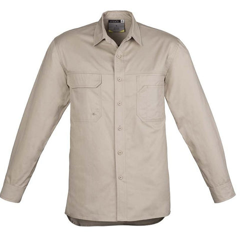 Image of MENS LIGHTWEIGHT TRADIE L/S SHIRT   ZW121
