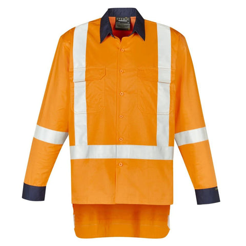Image of MENS TTMC-W17 X BACK WORK SHIRT   ZW126