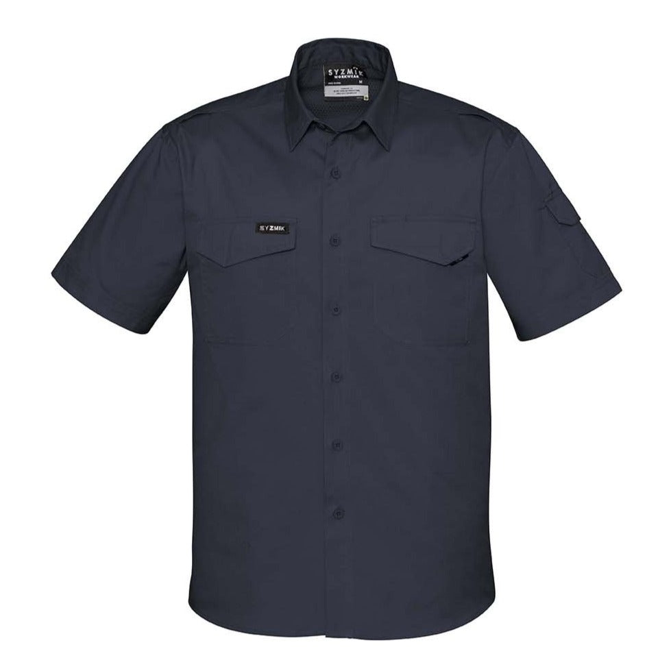 MENS RUGGED COOLING MENS S/S SHIRT   ZW405