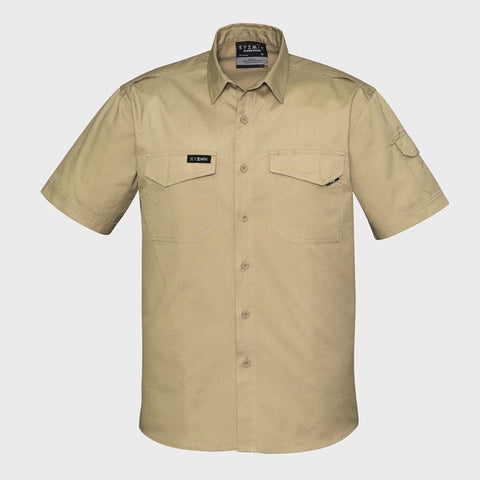 Image of The Gooserooter MENS RUGGED COOLING MENS S/S SHIRT   ZW405