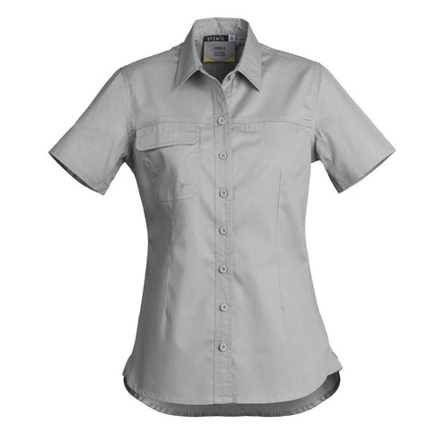 WOMENS LIGHTWEIGHT TRADIE S/S SHIRT    ZWL120