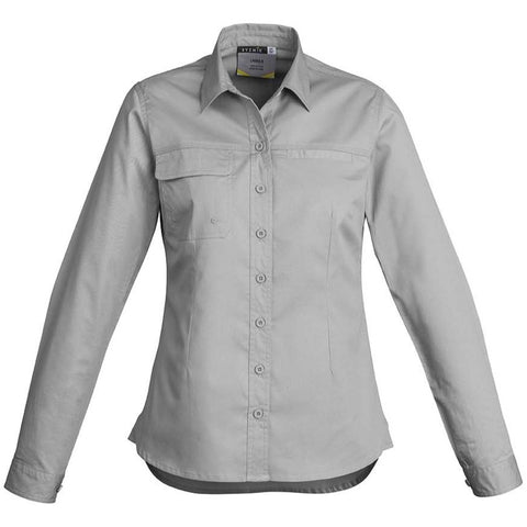 WOMENS LIGHTWEIGHT TRADIE L/S SHIRT   ZWL121