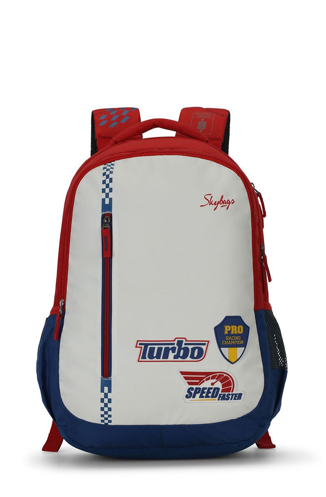 FIGO EXTRA 01 BACKPACK WHITE 30L - SkyBags Cyprus