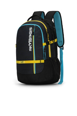 HERIOS PLUS 03 LAPTOP BACKPACK BLACK 30L - SkyBags Cyprus