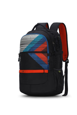 HERIOS PLUS 01 LAPTOP BACKPACK BLACK 30L - SkyBags Cyprus
