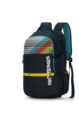 HERIOS PLUS 01 LAPTOP BACKPACK TEAL 30L - SkyBags Cyprus