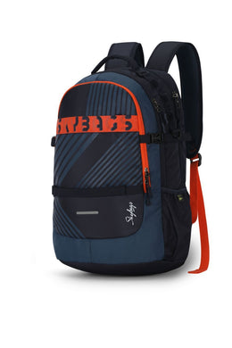 HERIOS PLUS 02 LAPTOP BACKPACK BLUE 30L - SkyBags Cyprus