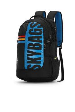 HERIOS PLUS 04 LAPTOP BACKPACK BLACK 30L - SkyBags Cyprus