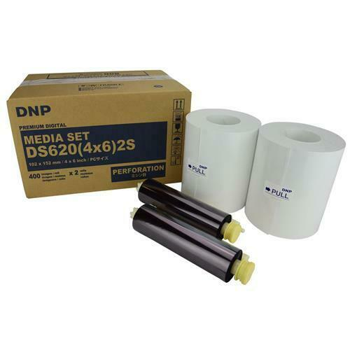 DNP DS620 Single Perforated 4