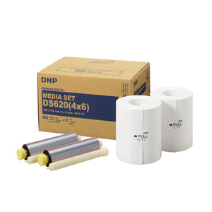 "DNP 4"" x 6"" Print Pack for use with DS620A Printer 4"" x 6"" Print Pack 2 Rolls, 800 Prints Total"