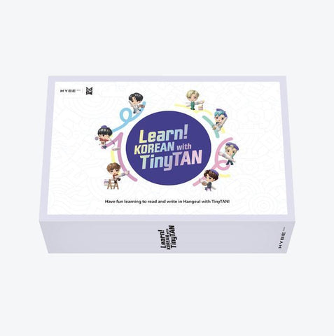 BTS - [Learn! KOREAN With TinyTAN]– Pre-Order
