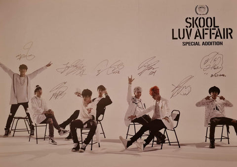 BTS – Skool Luv Affair [Special Addition] – Poster