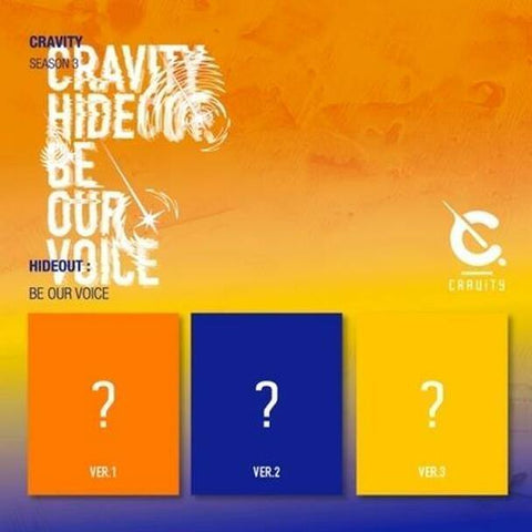 CRAVITY - CRAVITY SEASON3. [HIDEOUT: BE OUR VOICE] Random Ver.