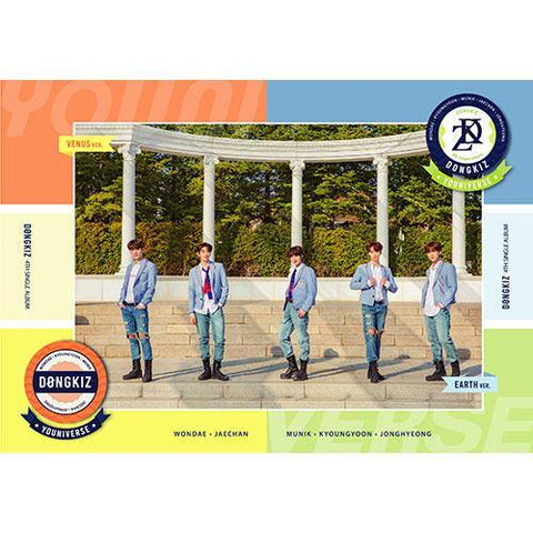 DONGKIZ - 4TH SINGLE ALBUM [YOUNIVERSE] - PRE ORDER