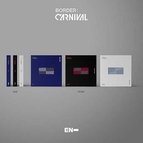 ENHYPEN 2nd Mini Album - [BORDER : CARNIVAL] - PRE ORDER