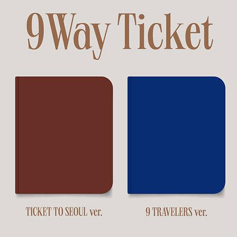 FROMIS_9 - 2nd Single Album [9 WAY TICKET] - Pre Order