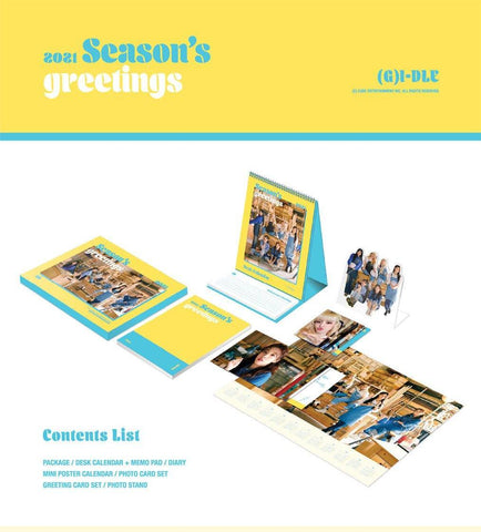 G-IDLE 2021 SEASON'S GREETINGS