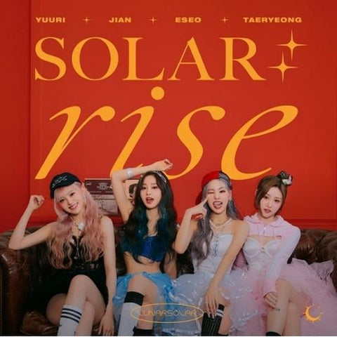 LUNARSOLAR - 2nd Single [SOLAR : RISE] - PRE ORDER