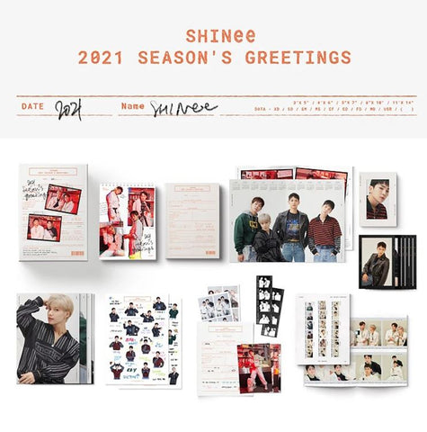 SHINee - 2021 SEASON'S GREETINGS - PRE ORDER