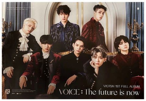 VICTON 1st full album [Voice: The future is now] - Poster