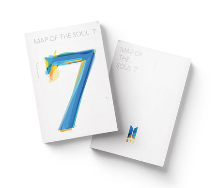 bts map of the soul 7 album front and back product image