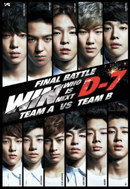 yg entertainment survival show win: who is next poster