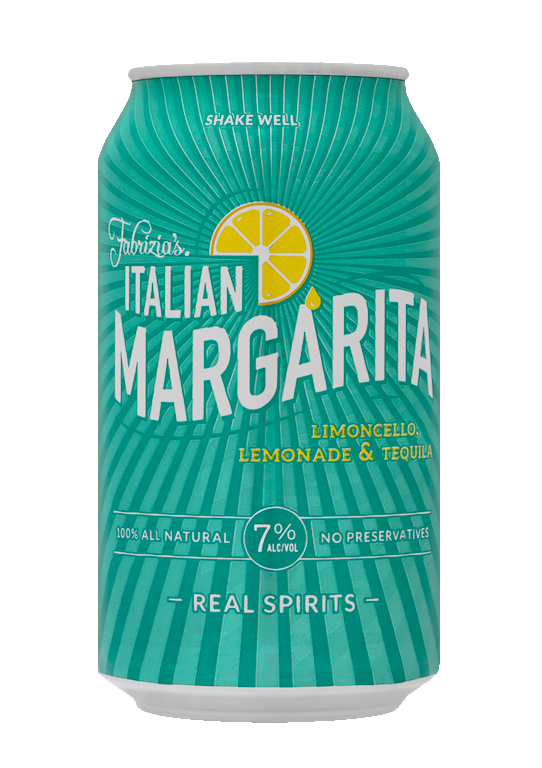1 Case Fabrizia Italian Margarita Canned Cocktail (24 Cans)