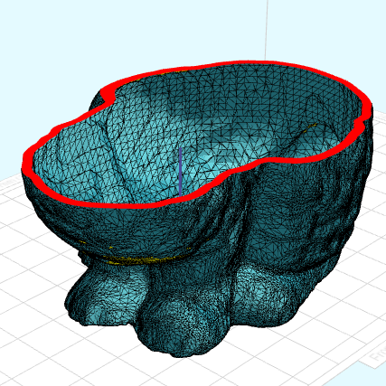 Mesh Hollowing