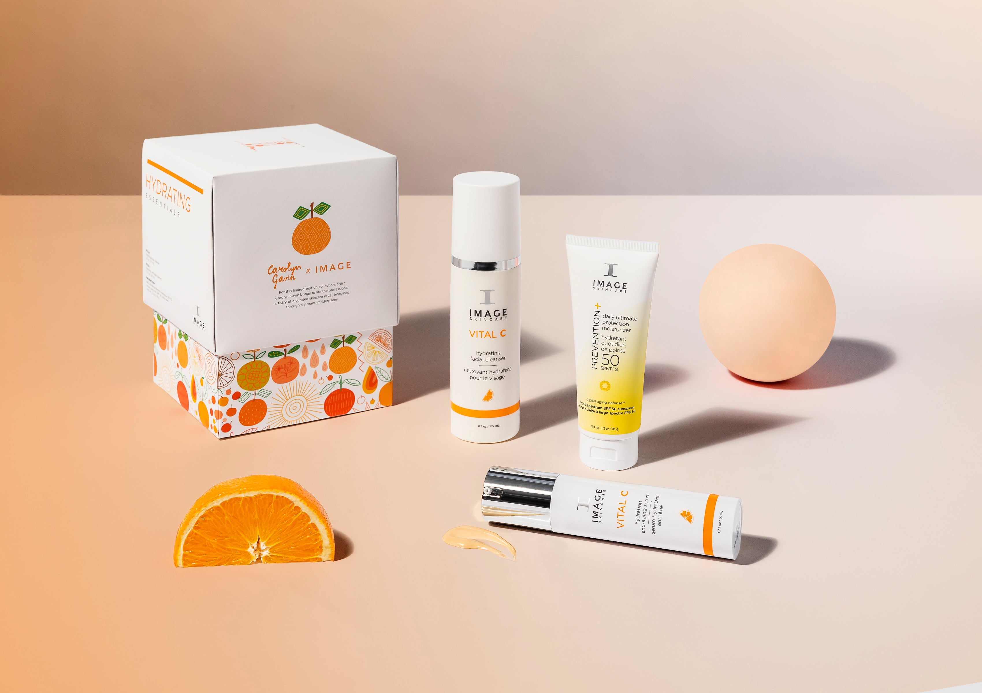 Hydrating Essentials with gift bag