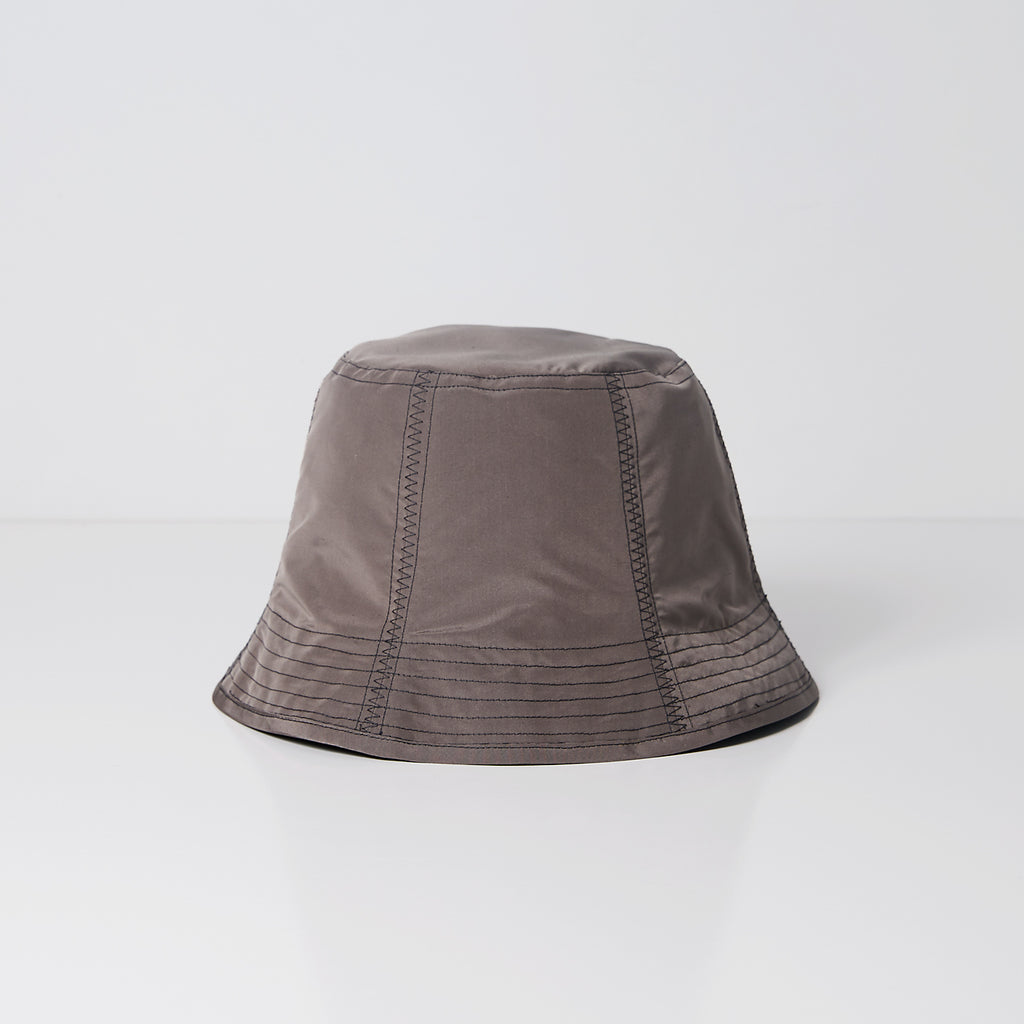Mauve & Pink Silk Bucket Hat