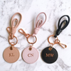 Personalised Monogram Keyring | Rose Gold