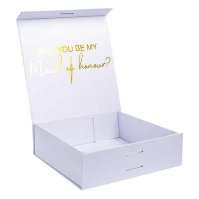 """Will you be my Maid of Honour?"" Gift Box 