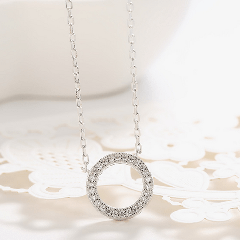 925 Exclusive Circle Necklace